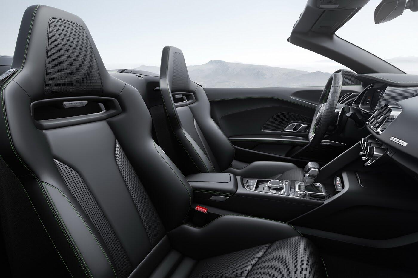 Audi R8 V10 Spyder Plus trình làng với sức mạnh 601 mã lực - Hình 5