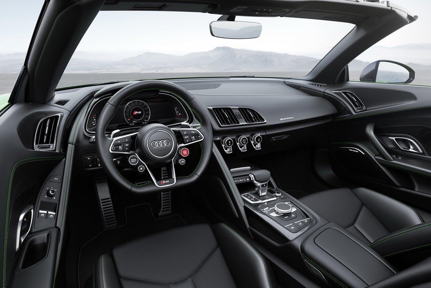 Audi R8 V10 Spyder Plus trình làng với sức mạnh 601 mã lực - Hình 6