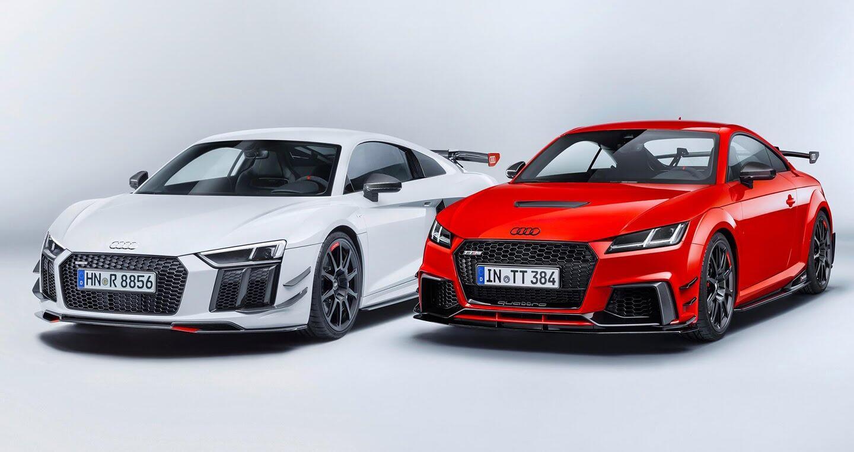 """Audi R8 và TT RS đẹp """"ngỡ ngàng"""" với trang bị thể thao - Hình 1"""
