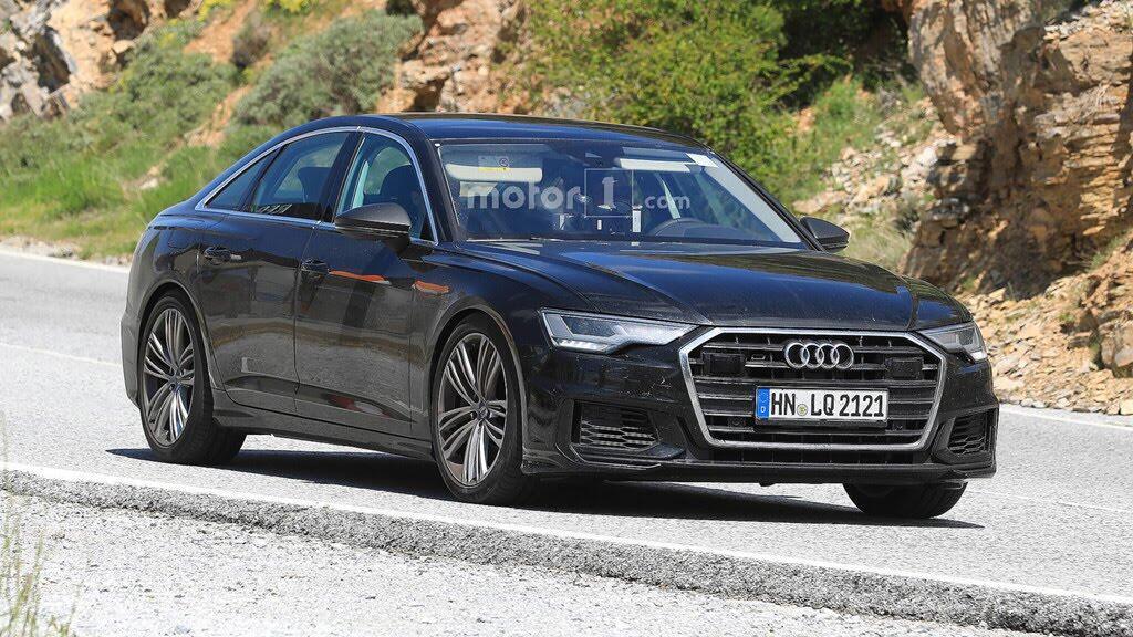 Audi S6 2019 lộ hình ảnh trên đường thử - Hình 2