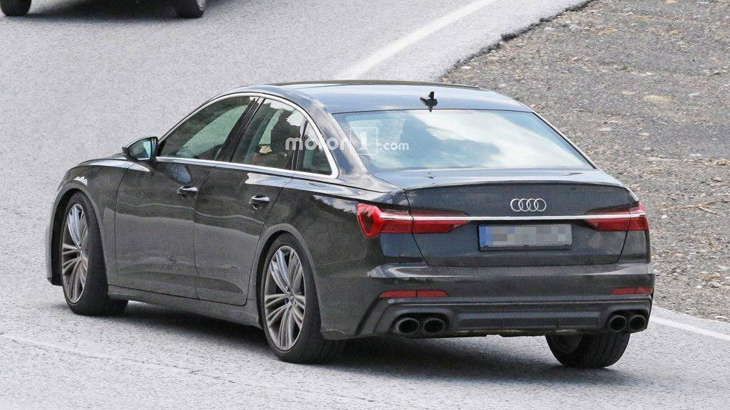 Audi S6 2019 lộ hình ảnh trên đường thử - Hình 5