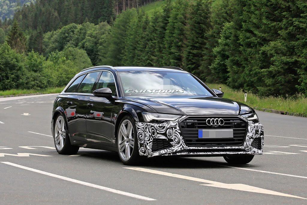 Audi S6 2019 lộ hình ảnh trên đường thử - Hình 6