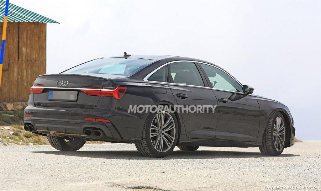 Audi S6 2019 lộ hình ảnh trên đường thử - Hình 7