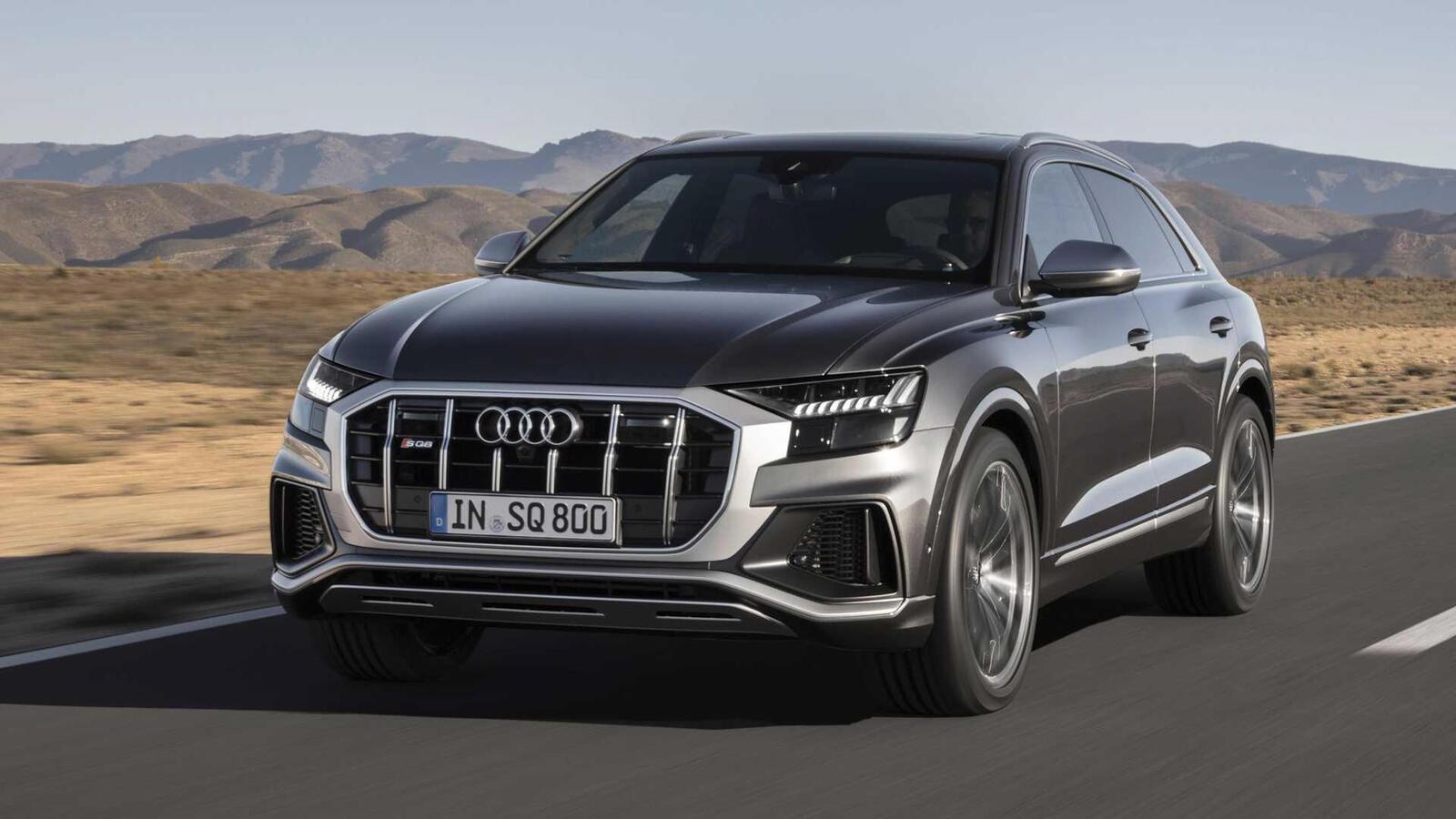 Audi SQ8 ra mắt lắp máy dầu V8 4.0L mild hybrid mạnh 429 mã lực - Hình 1