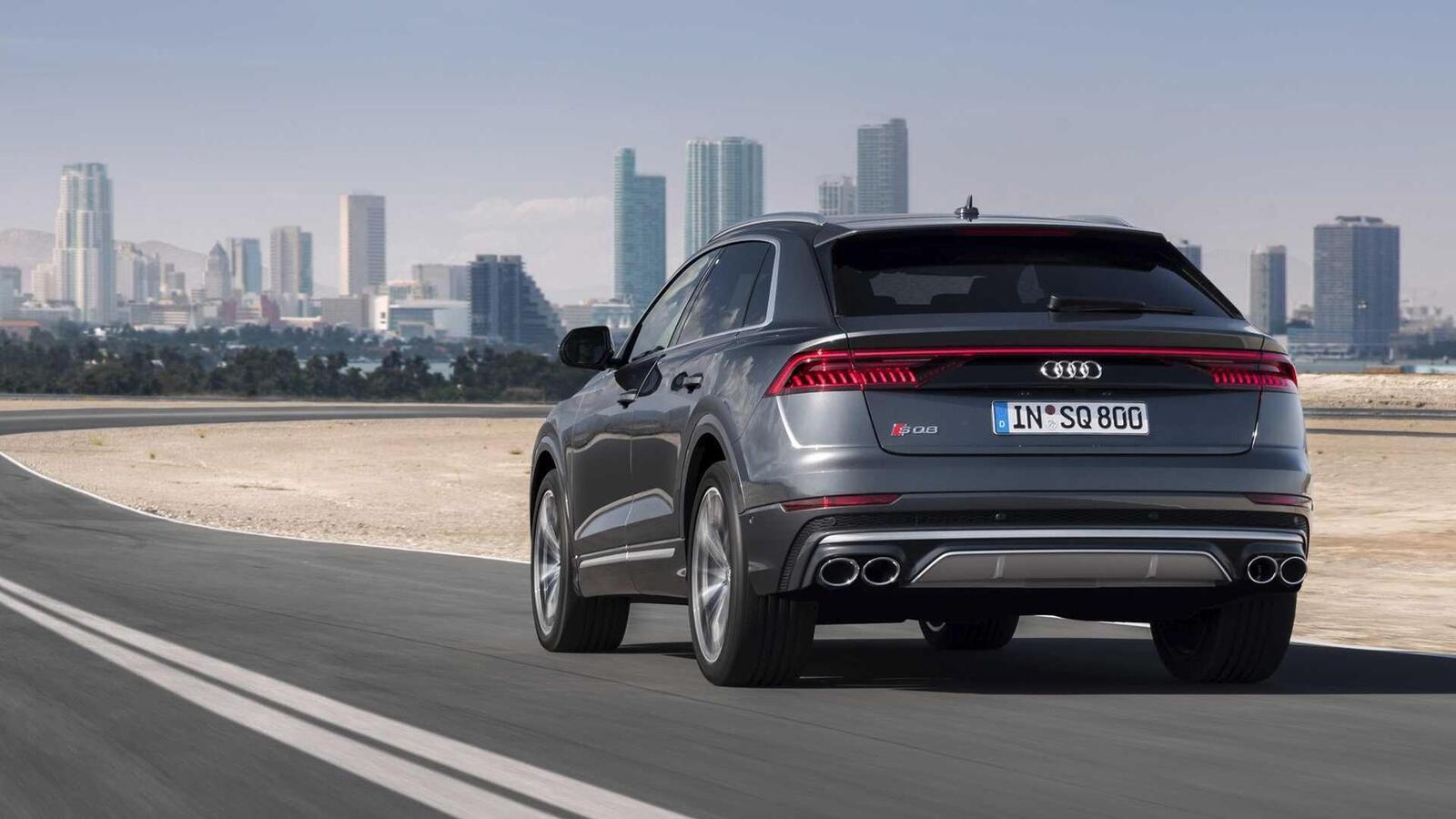 Audi SQ8 ra mắt lắp máy dầu V8 4.0L mild hybrid mạnh 429 mã lực - Hình 17