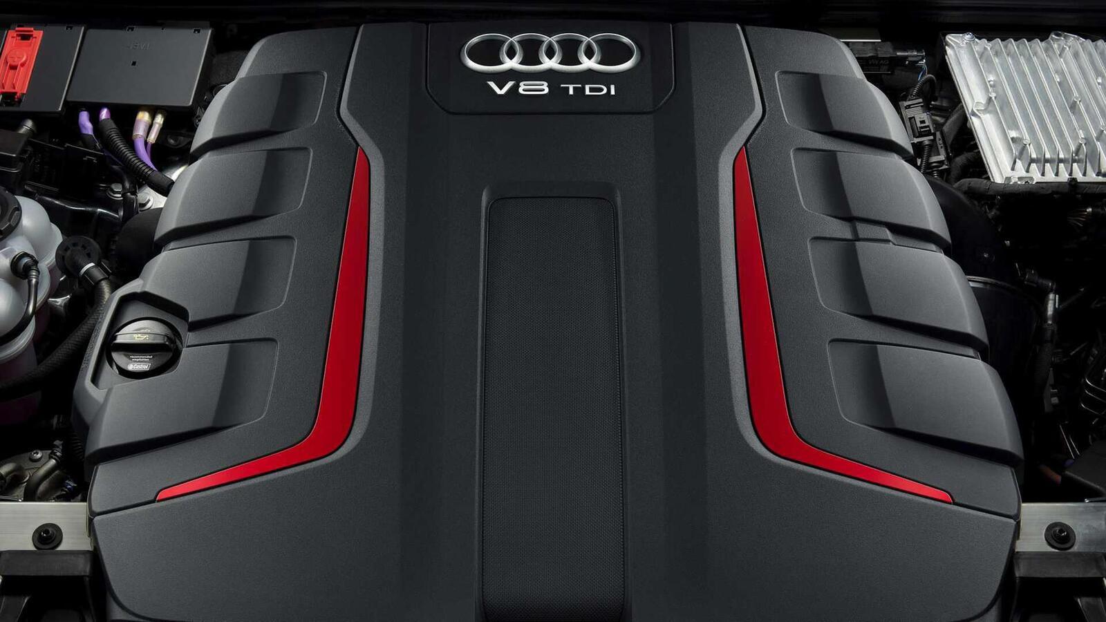 Audi SQ8 ra mắt lắp máy dầu V8 4.0L mild hybrid mạnh 429 mã lực - Hình 3