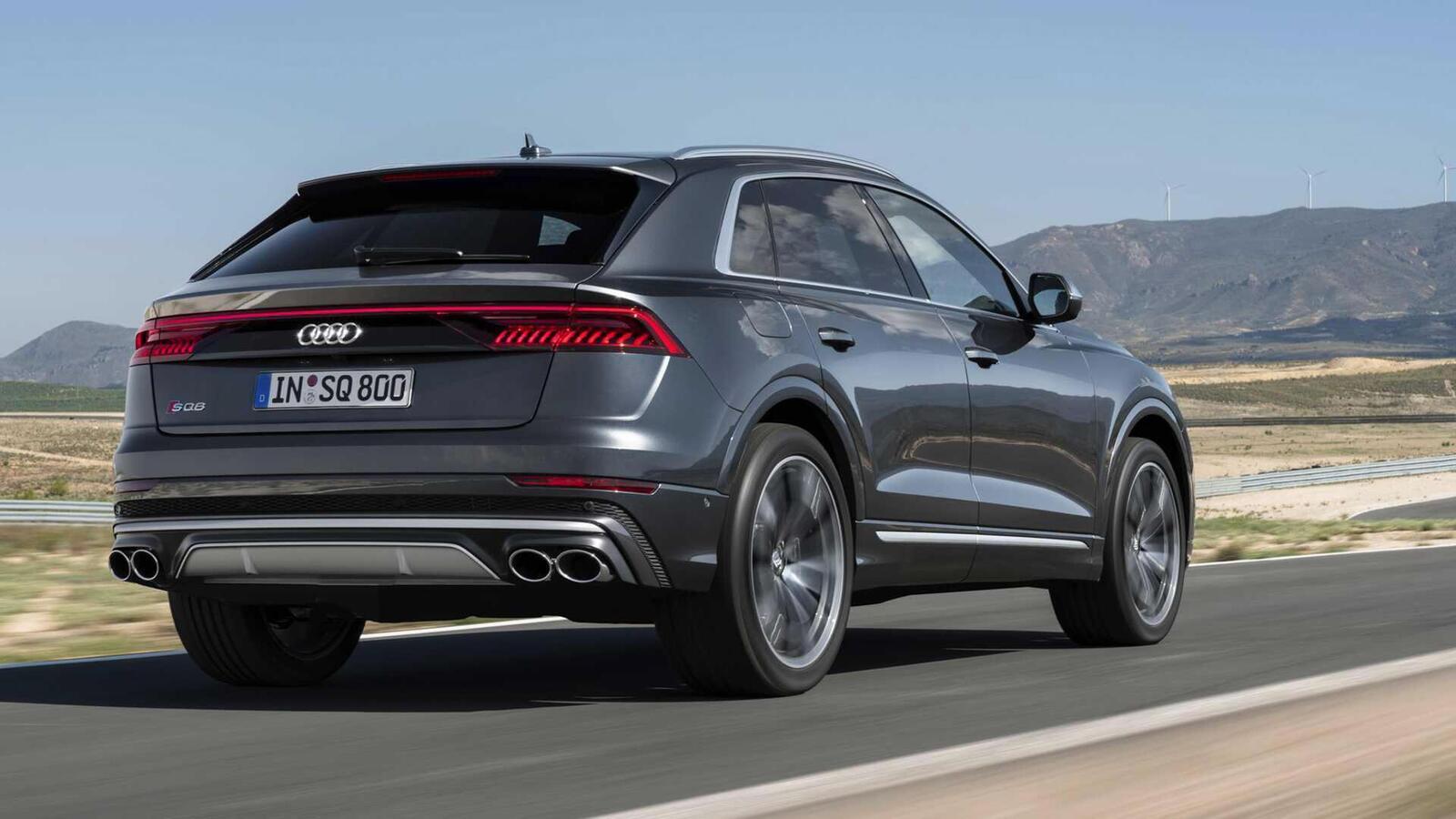 Audi SQ8 ra mắt lắp máy dầu V8 4.0L mild hybrid mạnh 429 mã lực - Hình 4