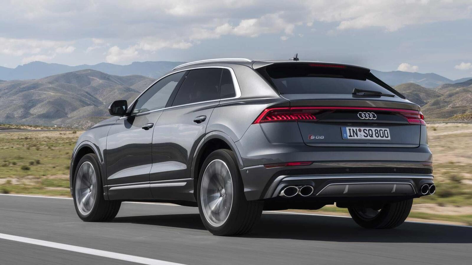 Audi SQ8 ra mắt lắp máy dầu V8 4.0L mild hybrid mạnh 429 mã lực - Hình 5