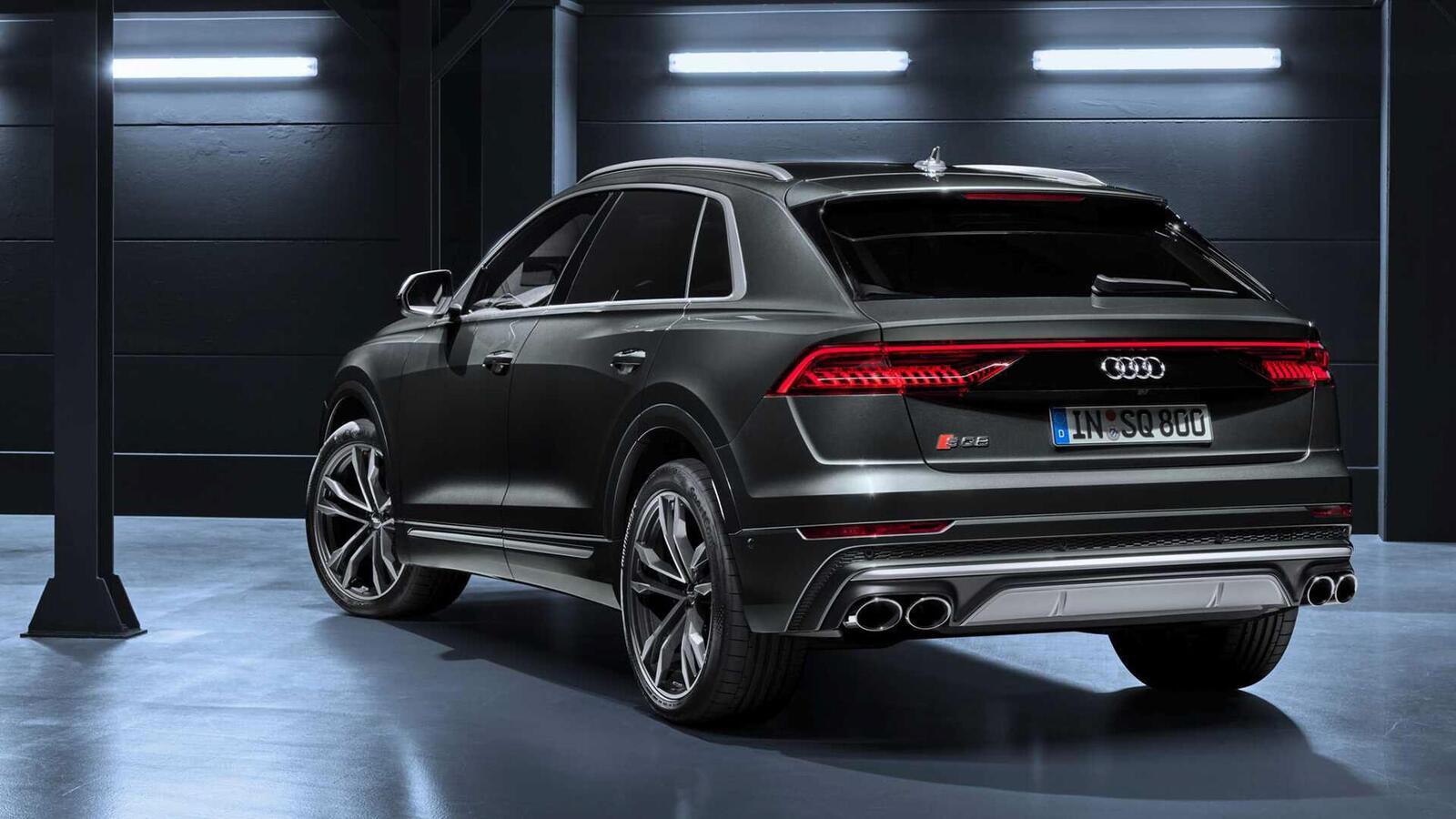 Audi SQ8 ra mắt lắp máy dầu V8 4.0L mild hybrid mạnh 429 mã lực - Hình 6