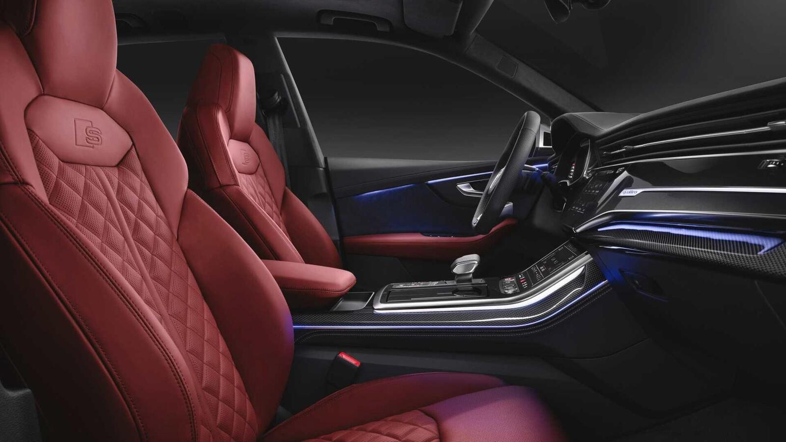 Audi SQ8 ra mắt lắp máy dầu V8 4.0L mild hybrid mạnh 429 mã lực - Hình 9