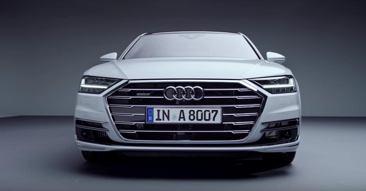 Audi thêm một số trang bị cho A8 2018 - Hình 1