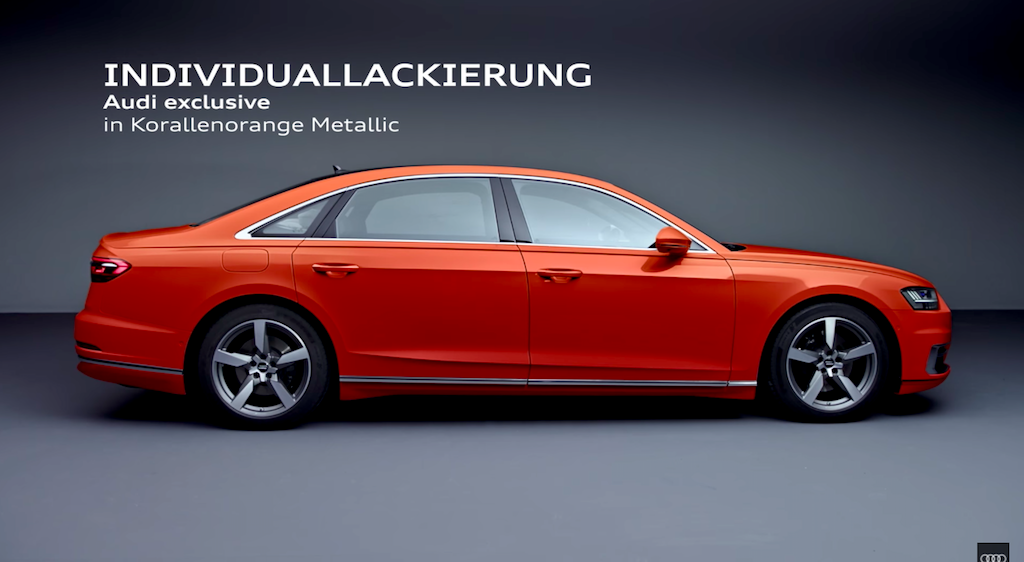 Audi thêm một số trang bị cho A8 2018 - Hình 2