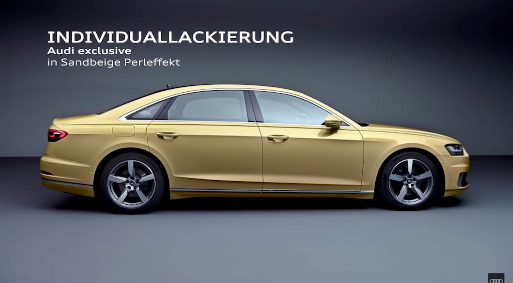 Audi thêm một số trang bị cho A8 2018 - Hình 3