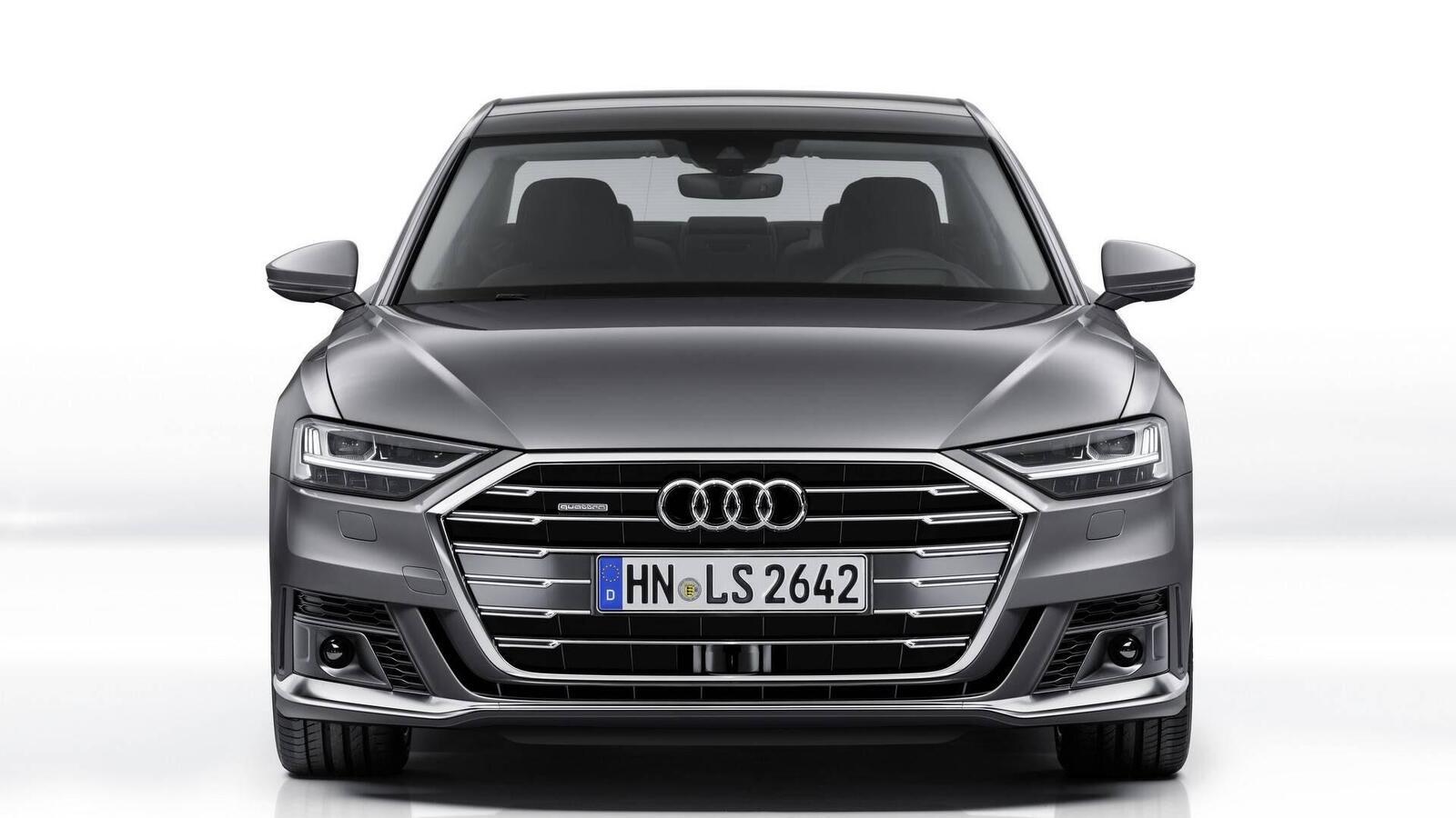 Audi thêm một số trang bị cho A8 2018 - Hình 4