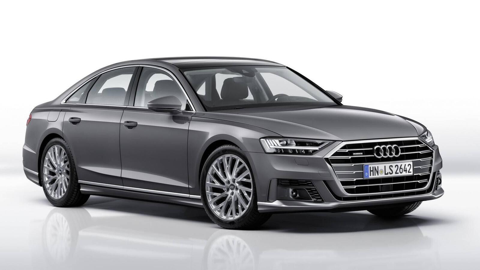 Audi thêm một số trang bị cho A8 2018 - Hình 9