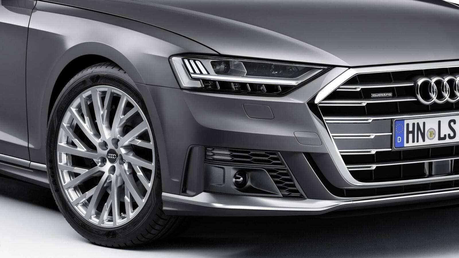 Audi thêm một số trang bị cho A8 2018 - Hình 10