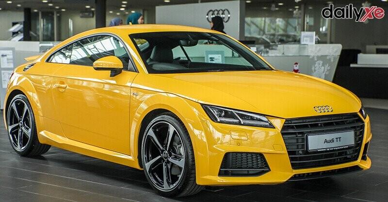 Tổng quan Audi TT
