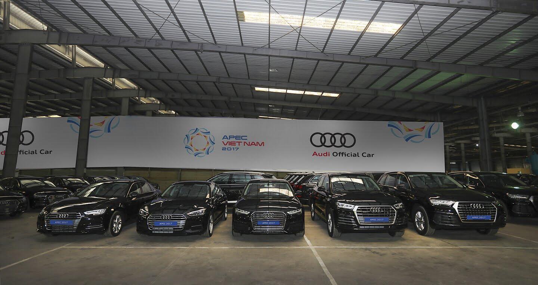 Audi Việt Nam bàn giao thêm 258 xe phục vụ APEC 2017 - Hình 1
