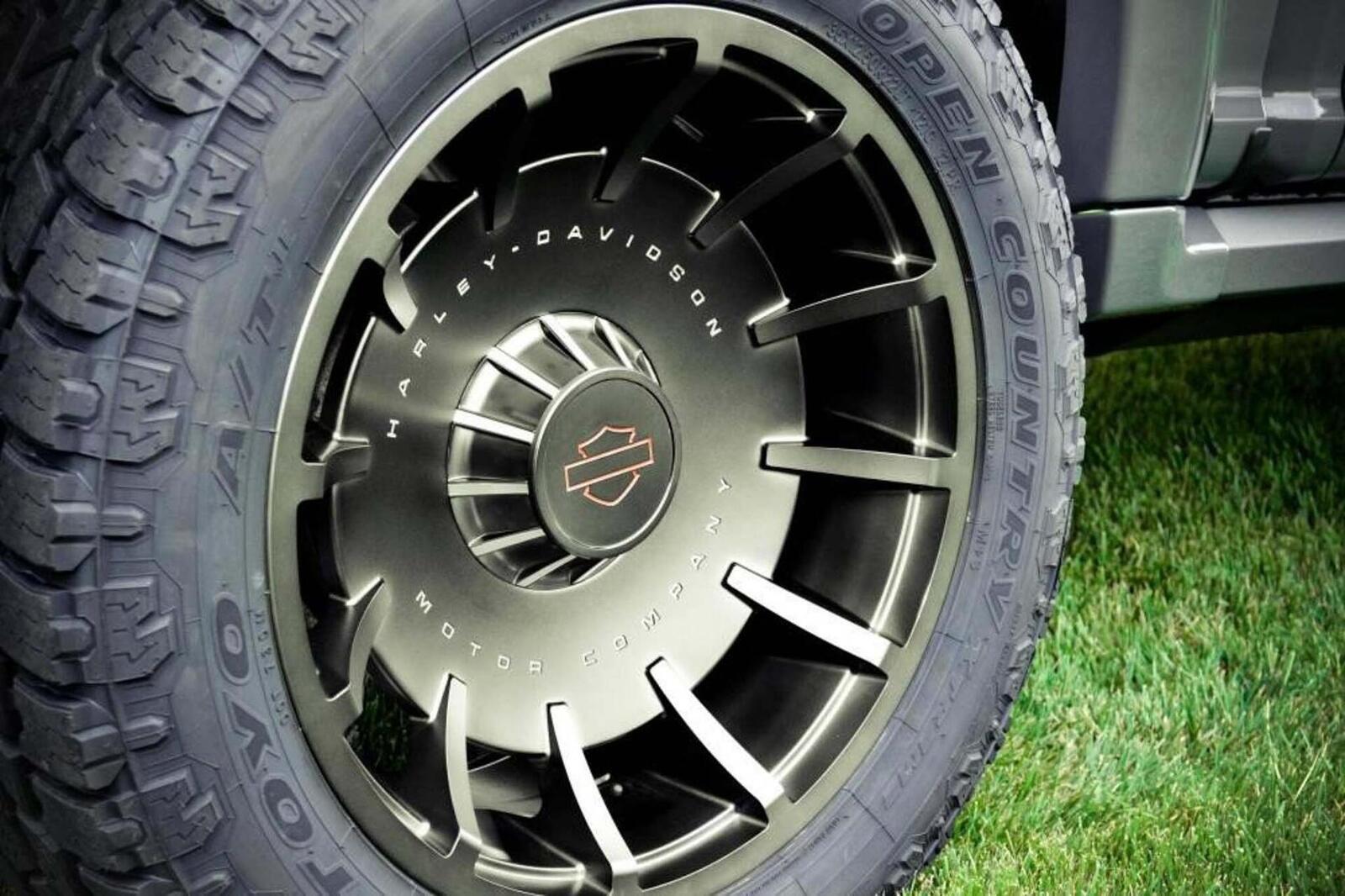 Bán tải Ford F-150 độ bởi hãng mô tô Harley-Davidson có giá bán từ 97.000 USD tại Mỹ - Hình 13