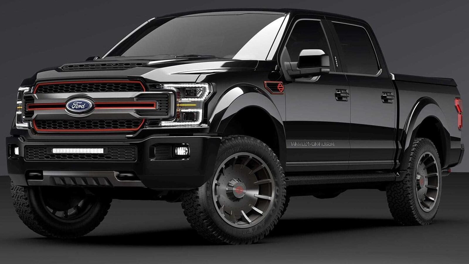 Bán tải Ford F-150 độ bởi hãng mô tô Harley-Davidson có giá bán từ 97.000 USD tại Mỹ - Hình 2