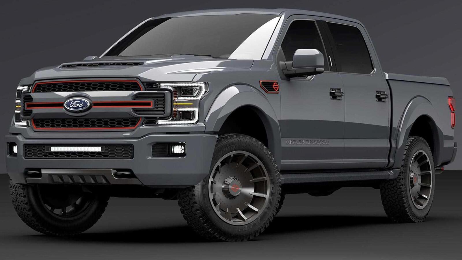 Bán tải Ford F-150 độ bởi hãng mô tô Harley-Davidson có giá bán từ 97.000 USD tại Mỹ - Hình 4