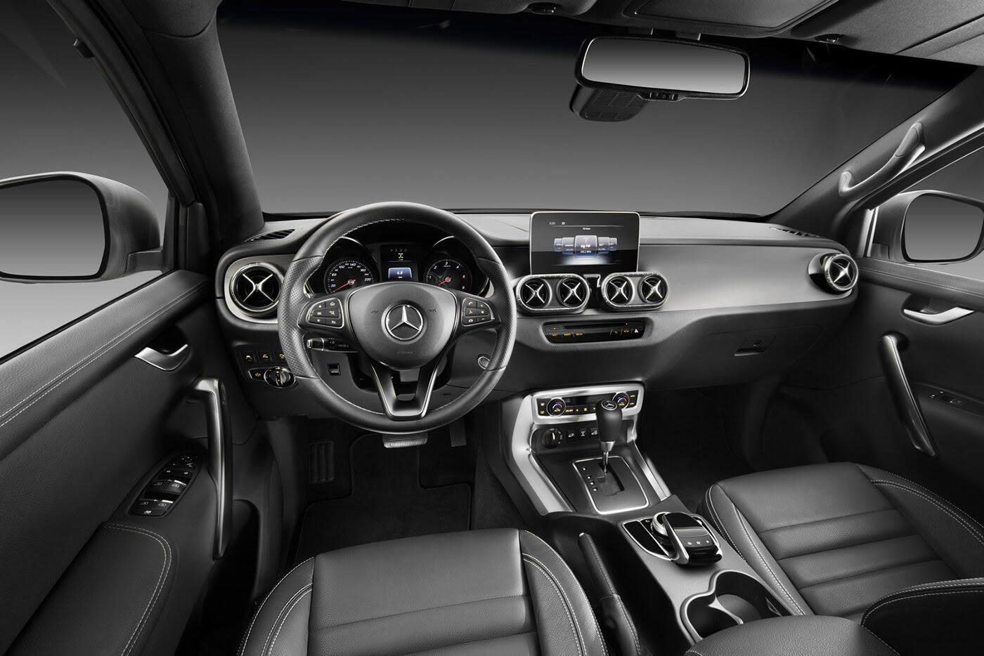 Bán tải Mercedes-Benz X-Class sẽ không có phiên bản động cơ V8 4.0L - Hình 6