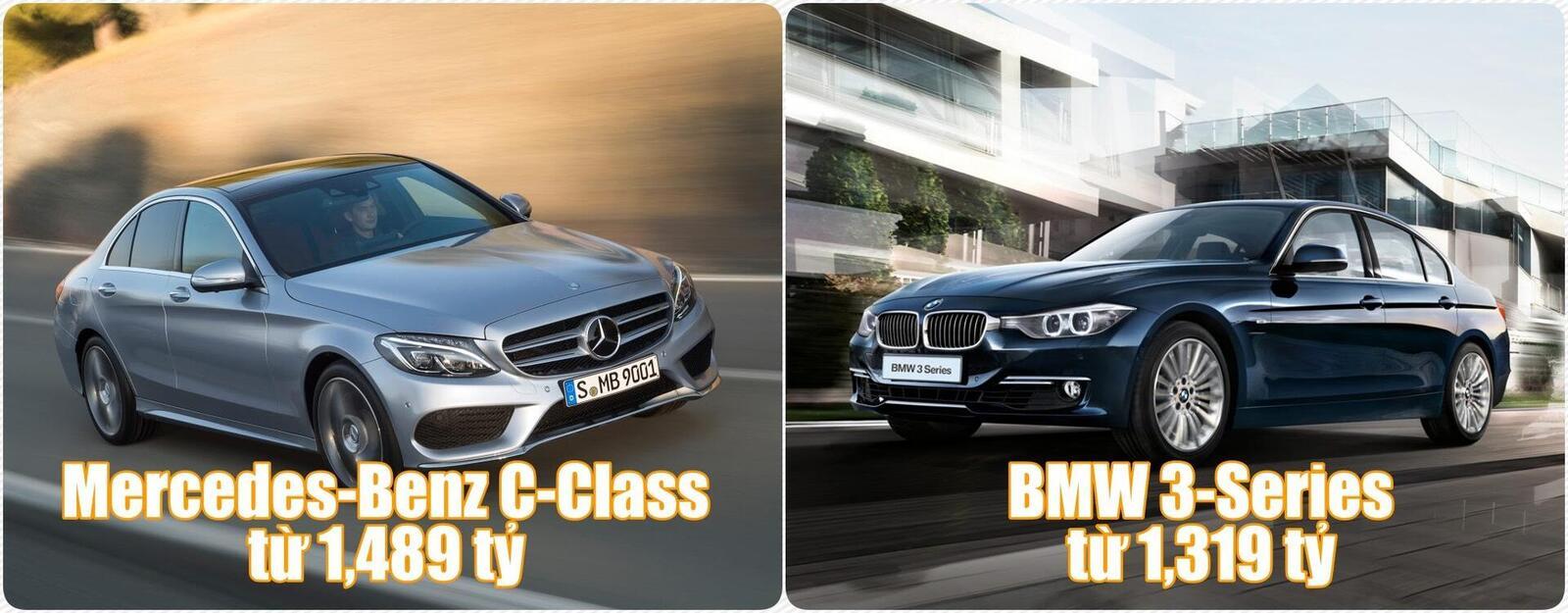 Bảng giá hiện tại của một số dòng xe Mercedes-Benz và BMW tại Việt Nam - Hình 1