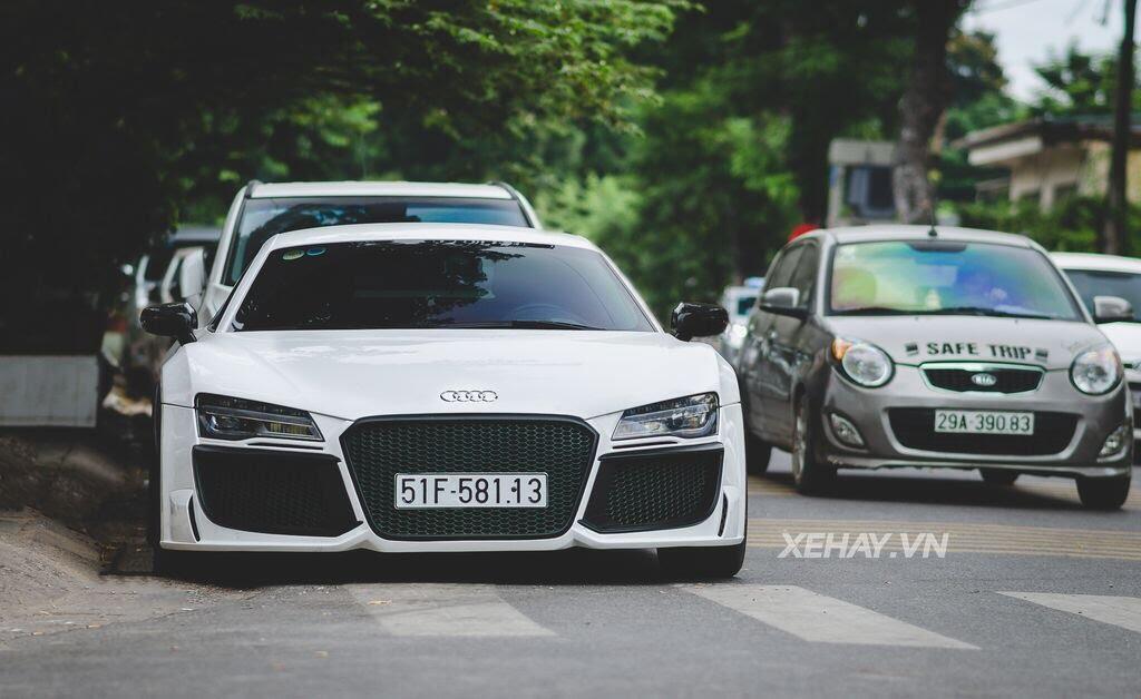Bắt gặp Audi R8 V8 độ - Hình 1