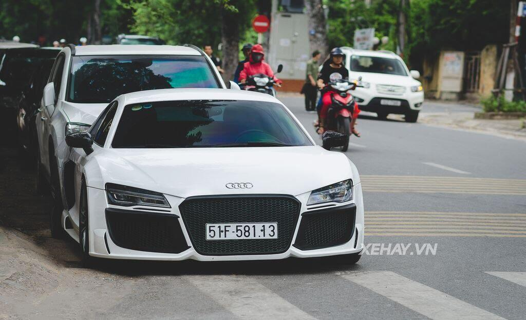 Bắt gặp Audi R8 V8 độ - Hình 2