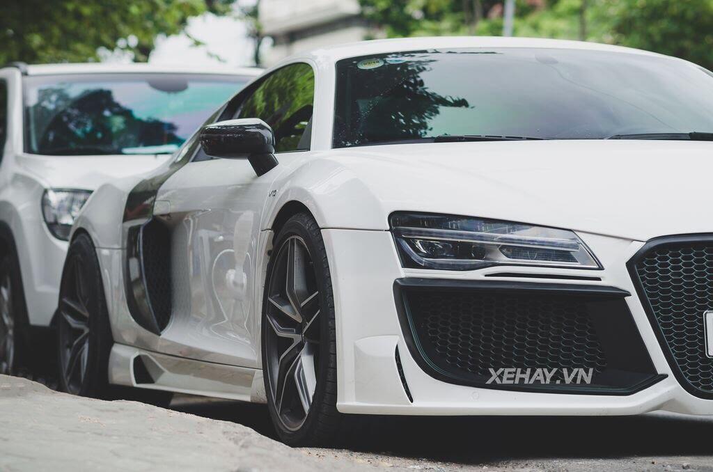 Bắt gặp Audi R8 V8 độ - Hình 5