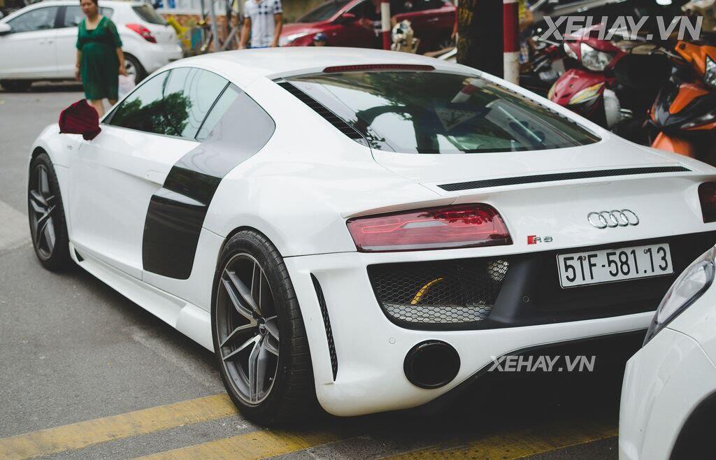 Bắt gặp Audi R8 V8 độ - Hình 6