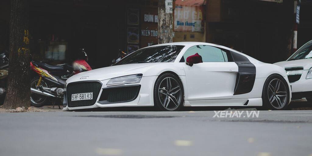 Bắt gặp Audi R8 V8 độ - Hình 8