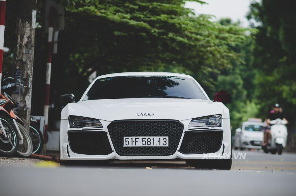 Bắt gặp Audi R8 V8 độ - Hình 10