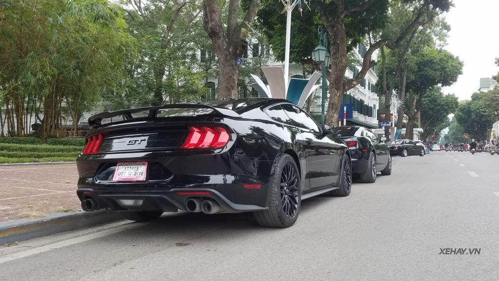 """Bắt gặp bộ đôi """"cơ bắp Mỹ"""" Camaro SS 2010 và Ford Mustang GT 5.0 Performance Package 2019 trên phố Hà Nội - Hình 16"""