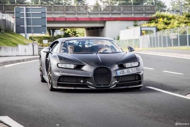 Bắt gặp Bugatti Divo trên đường thử Nurburgring ? - Hình 1