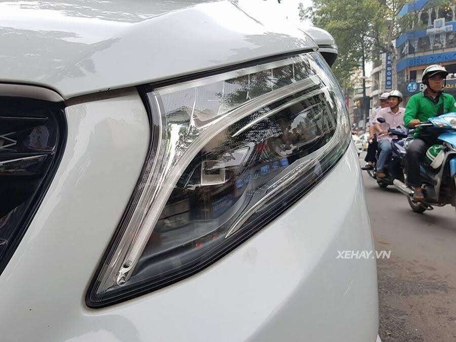 """Bắt gặp Mercedes-Benz V 250 độ """"khủng"""" của đại gia Minh Nhựa trên phố - Hình 10"""