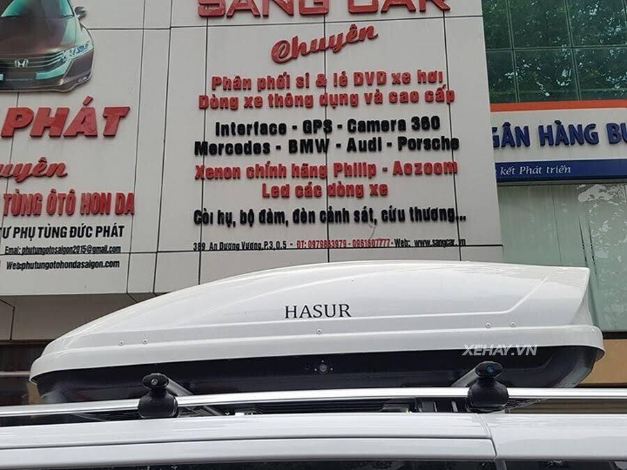 """Bắt gặp Mercedes-Benz V 250 độ """"khủng"""" của đại gia Minh Nhựa trên phố - Hình 12"""