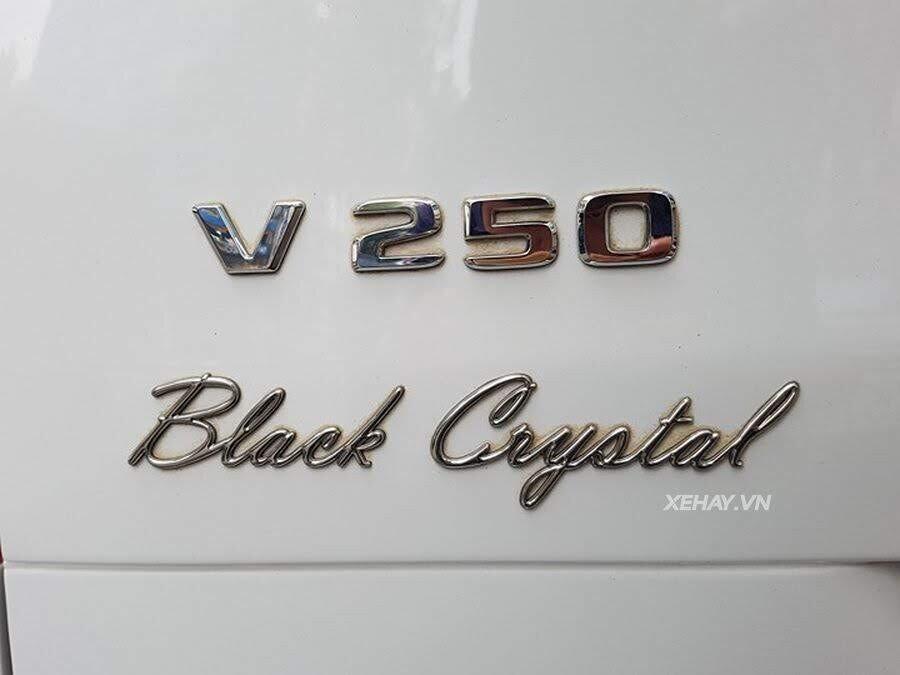 """Bắt gặp Mercedes-Benz V 250 độ """"khủng"""" của đại gia Minh Nhựa trên phố - Hình 19"""