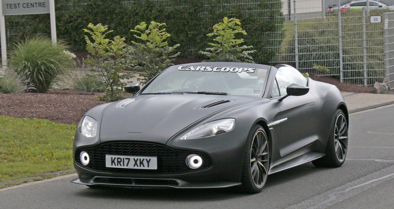 """""""Bắt gặp"""" siêu xe mới của Aston Martin, giá 1,6 triệu USD - Hình 1"""