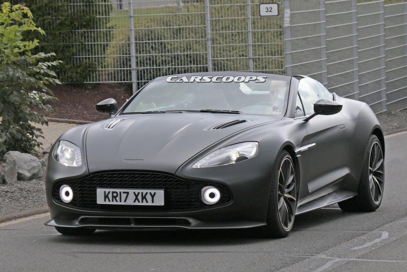 """""""Bắt gặp"""" siêu xe mới của Aston Martin, giá 1,6 triệu USD - Hình 2"""