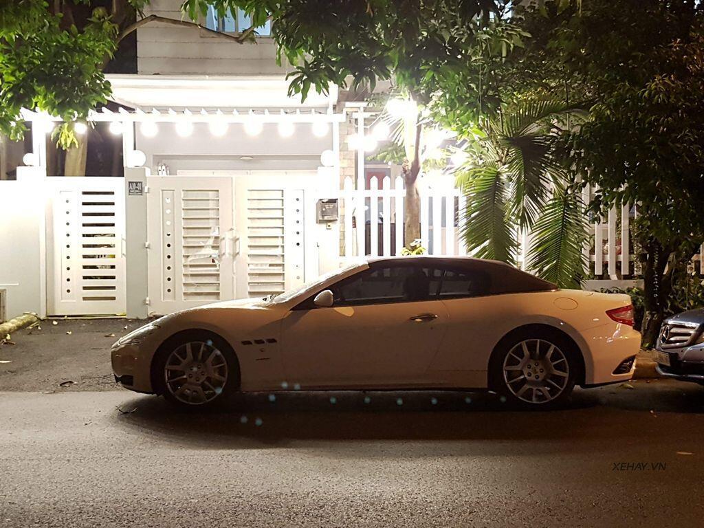 """Bắt gặp """"xế độc"""" Maserati GranCabrio tại TP.Hồ Chí Minh - Hình 1"""