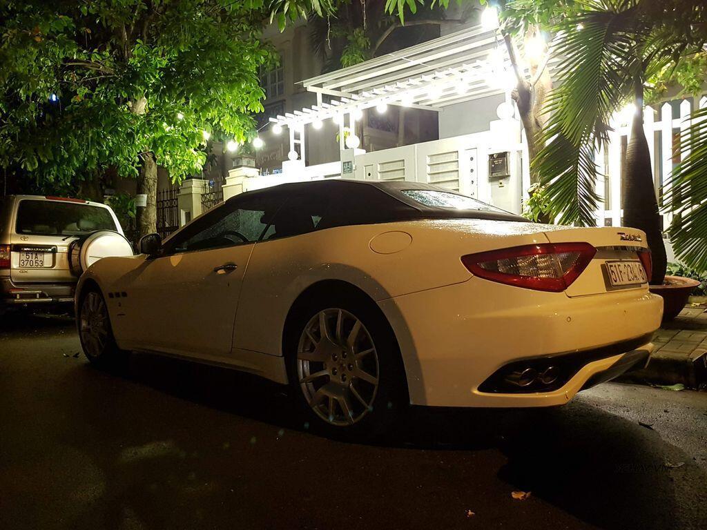 """Bắt gặp """"xế độc"""" Maserati GranCabrio tại TP.Hồ Chí Minh - Hình 5"""