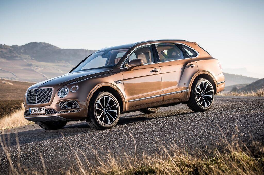 Bentley Bentayga 2017 - SUV nhanh nhất, sang trọng bậc nhất - Hình 2