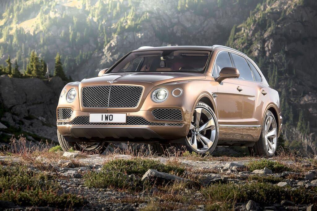 Bentley Bentayga 2017 - SUV nhanh nhất, sang trọng bậc nhất - Hình 4
