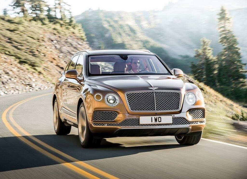 Bentley Bentayga 2017 - SUV nhanh nhất, sang trọng bậc nhất - Hình 5