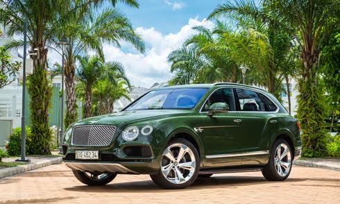 Bentley Bentayga - SUV siêu sang hàng thửa của đại gia Việt - Hình 1