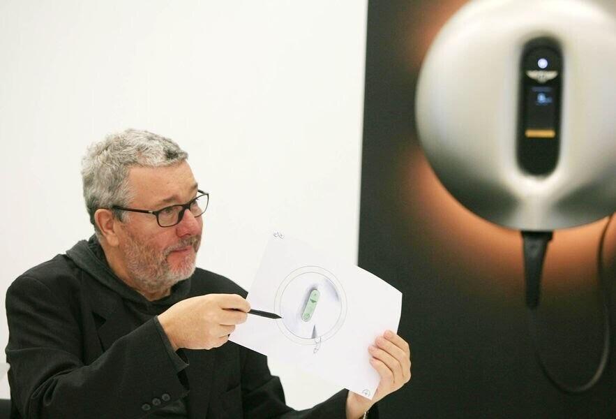 Bentley đã tận dụng tài năng của Philippe Starck để thiết kế bộ sạc cho Bentayga Hybrid - Hình 2