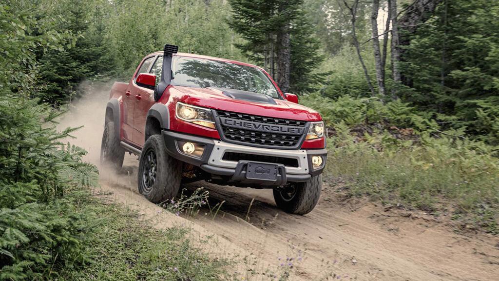 Biến thể của Chevrolet Colorado ZR2, đối đầu Ford Ranger Raptor - Hình 1