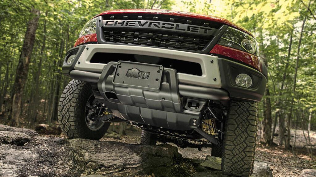 Biến thể của Chevrolet Colorado ZR2, đối đầu Ford Ranger Raptor - Hình 2