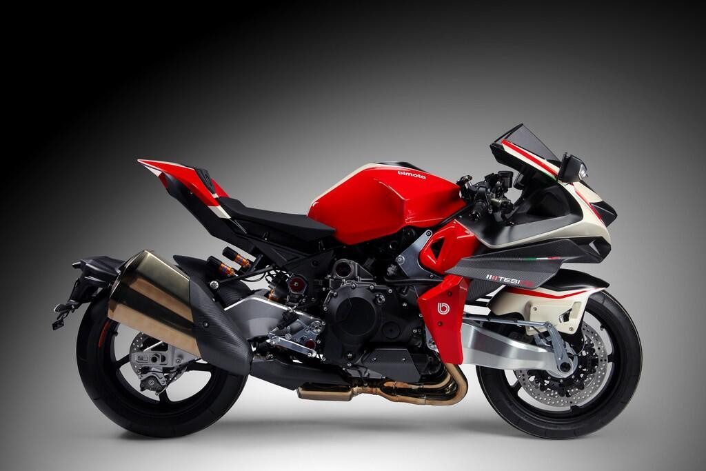 Bimota Tesi H2 Concept - môtô pha trộn phong cách Nhật và Italy